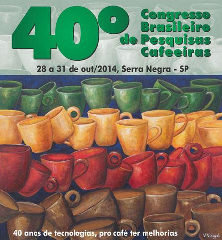 """Com a temática principal """"40 anos de tecnologias, pro café ter melhorias"""" o Congresso será realizado na cidade de Serra Negra, SP, de 28 a 31 de outubro"""
