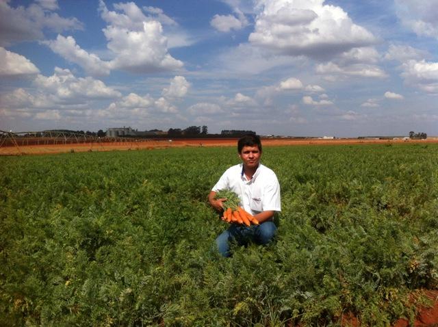 Tiago Henrique C. Silva, engenheiro agrônomo especialista emHF  Crédito Arquivo pessoal