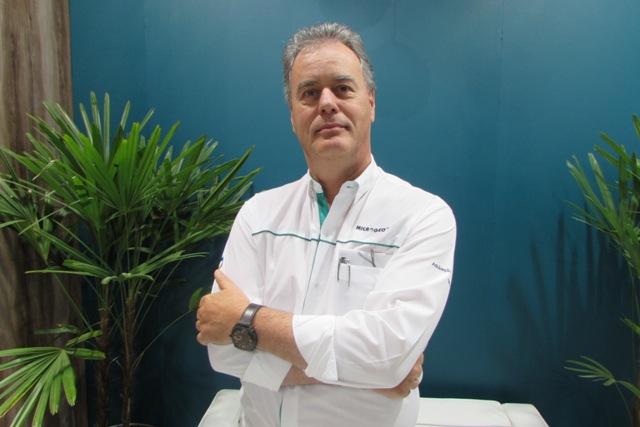 Leandro Suppia, diretor comercial da Microgeo