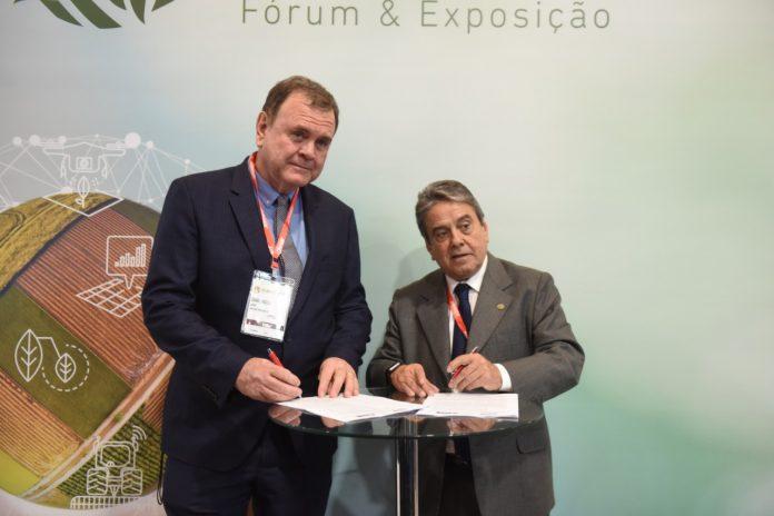 ANDAV e IAGRO assinam termo de cooperação para troca de informações